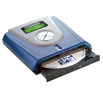 Portable Disc Drive Powered by Battery